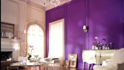 Purple within the Residing Room
