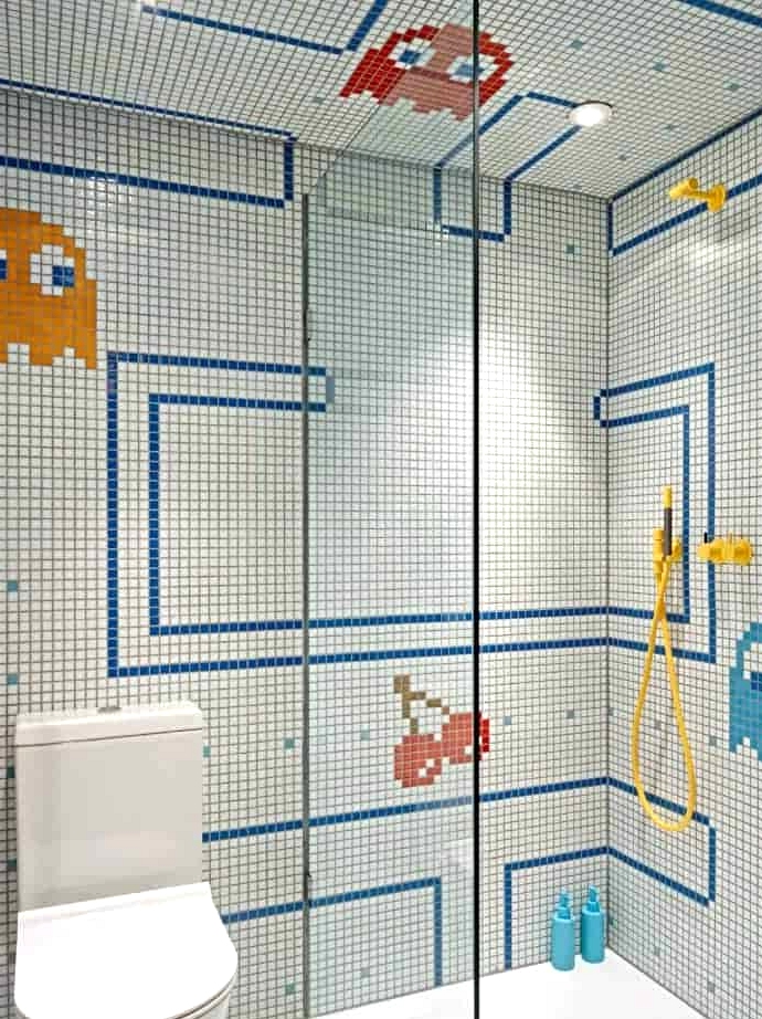 Decorate in a Pacman Design for Kids