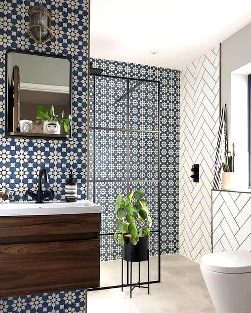 Be Flowery With Detailed Tiles