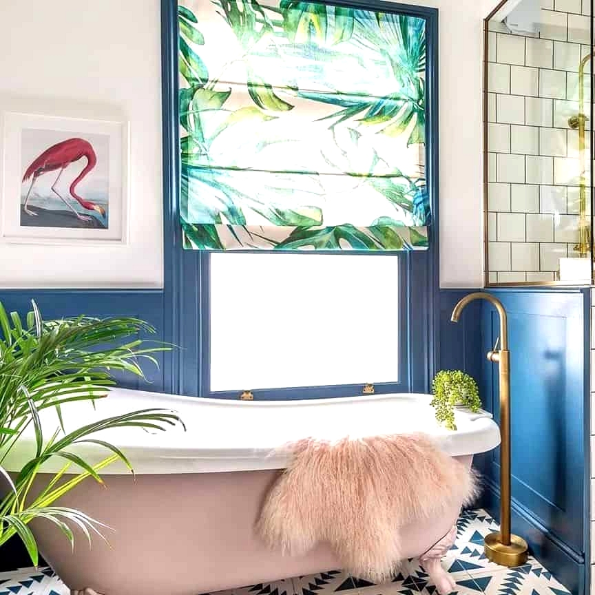 Be Bold With a Geometric Tile Pattern