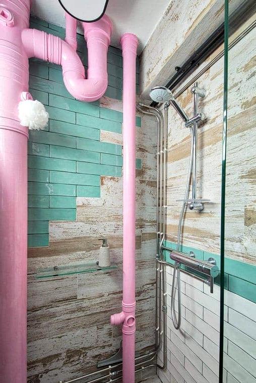 Create an Industrial Rustic Bathroom
