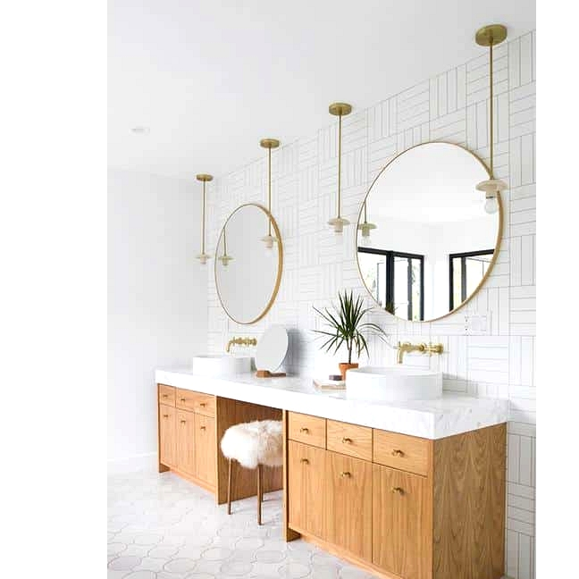 Change Things Up With Circular Tiles