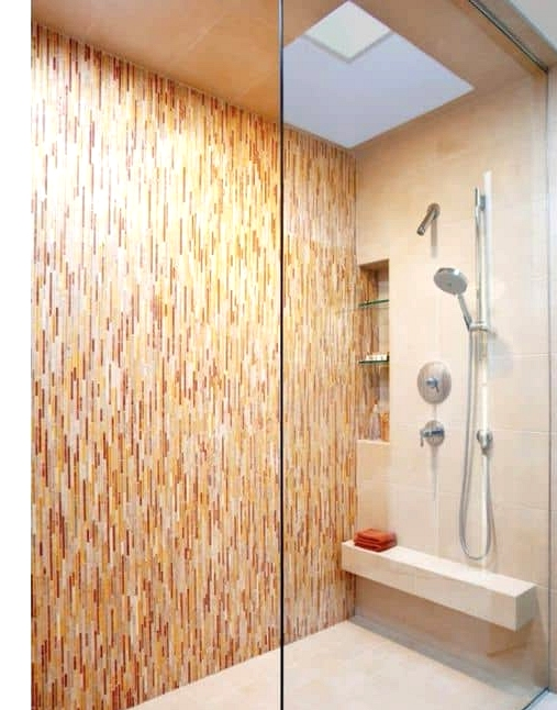 Get Bright-Colored Thin Striped Tiles