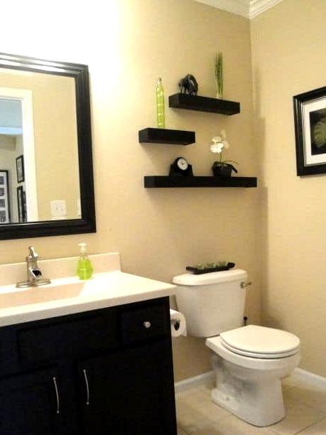Break Things Up With Asymmetrical Shelves