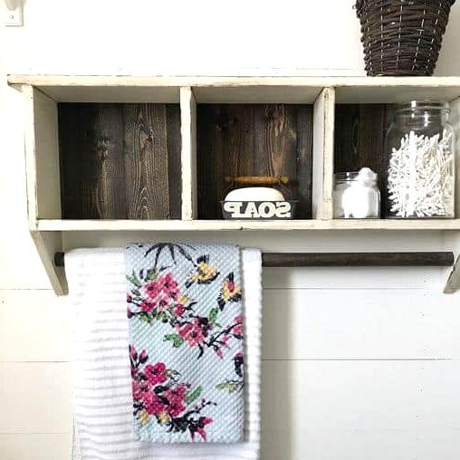 Buy a Distressed Cubby Shelf