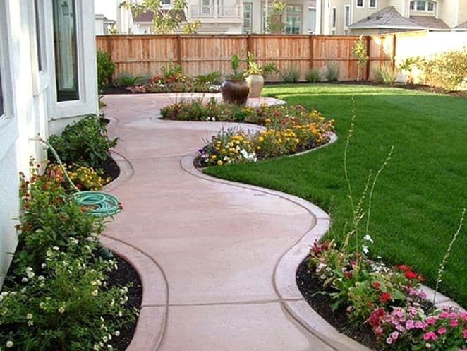 Add Little Gardens Along the Walkway