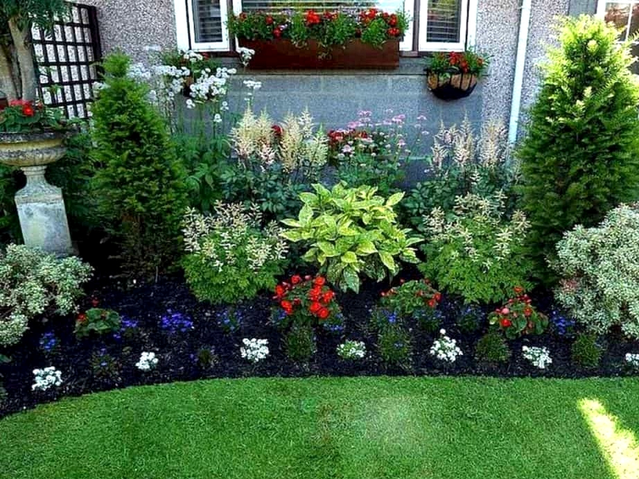 Mix and Match Heights and Plant Types