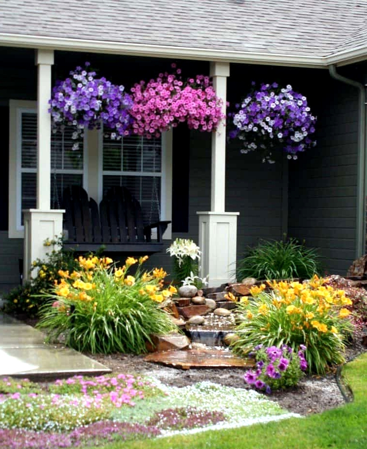 Hang Some Planters for a Splash of Color