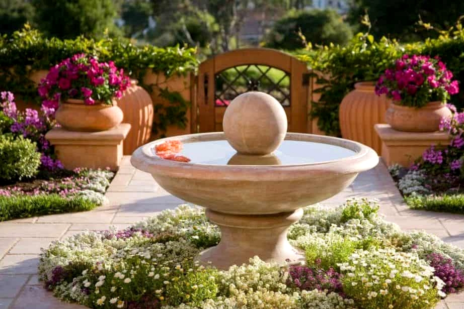 Buy a Stately Front Yard Fountain