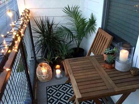 A Garden Furniture for the Balcony