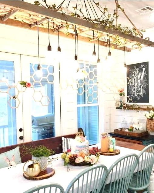 Convert It to a Dining Room Light Fixture