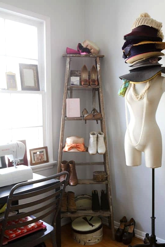 Display Shoes for Closet Storage
