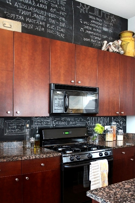 Make a Chalkboard Wall for Inspiration and Reminders