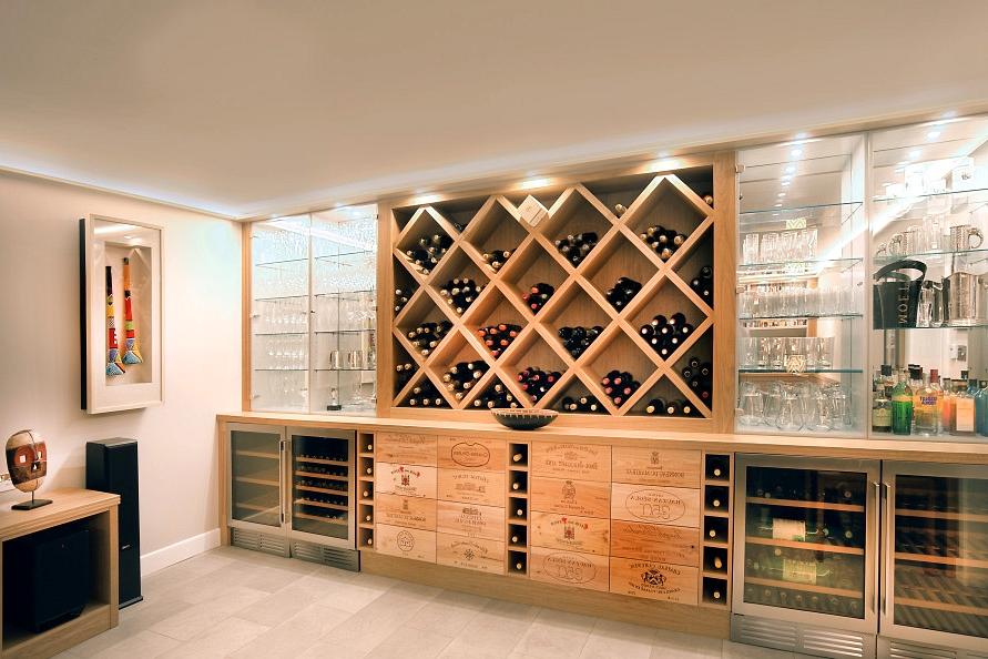 16 Sophisticated Mid Century Modern Wine Cellar Designs