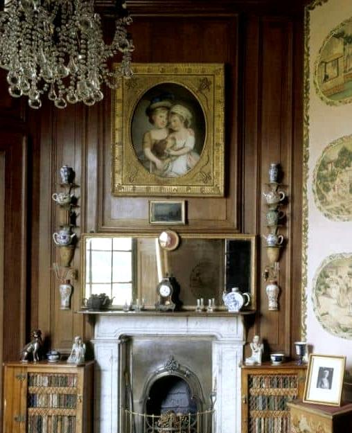 The Treasure Hunt Fireplace