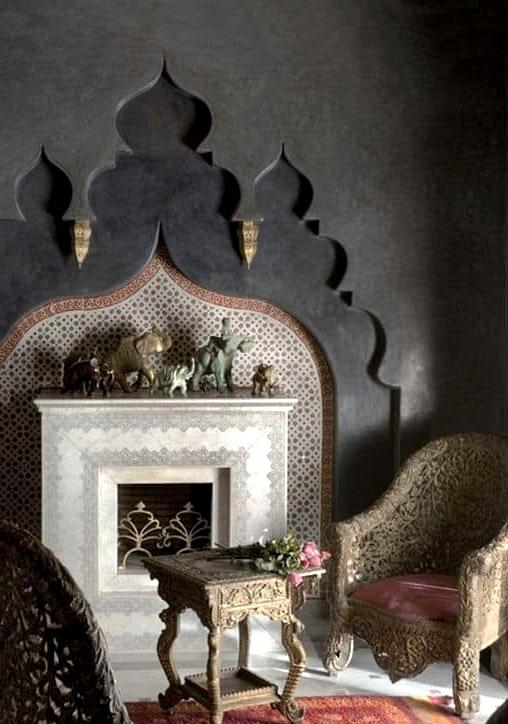 The Maharaja Fireplace