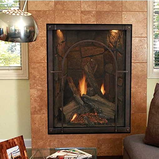 Get a Portrait Style Fireplace