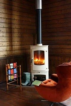 Small Room Corner Fireplace