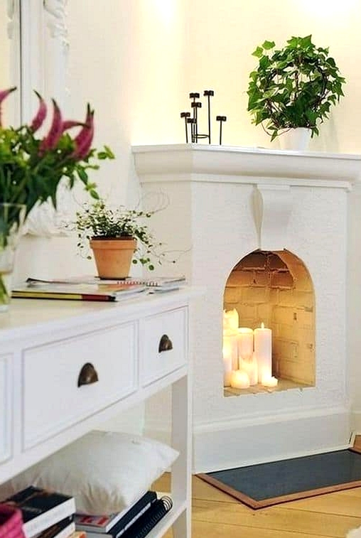 A Fireplace that Was