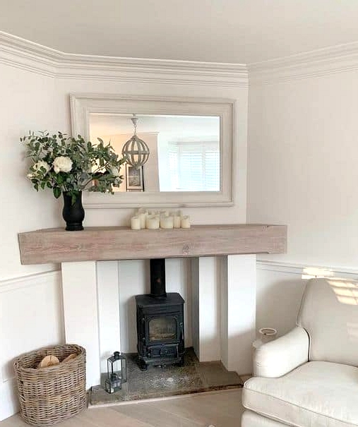 An Uncommon Fireplace