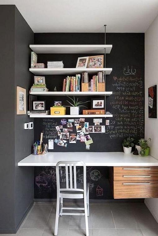 Black Chalk Board Paint home office
