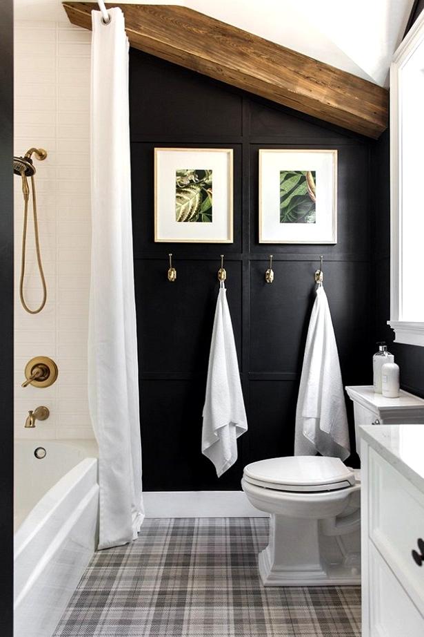 Bold Luxury Bathroom on a budget