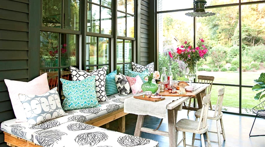 Create a Space for Dining and Lounging