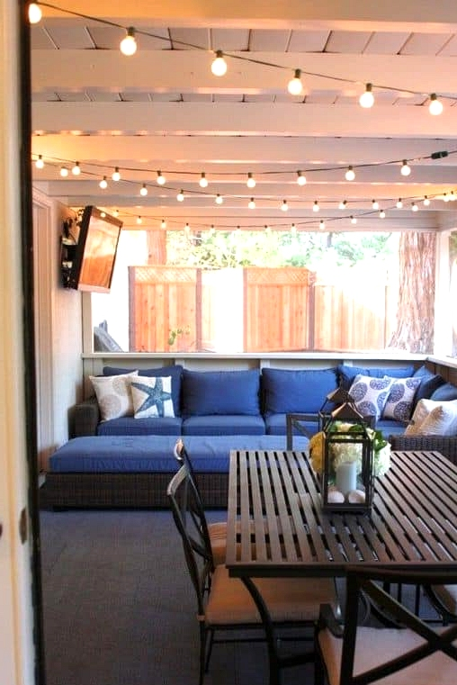 Hang Up Twinkle Lights for Atmosphere