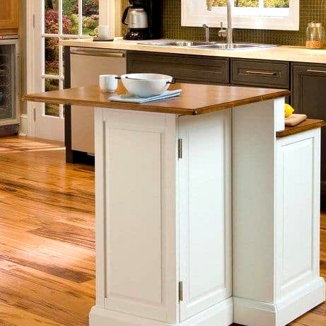 Make a Two Tiered Kitchen Island