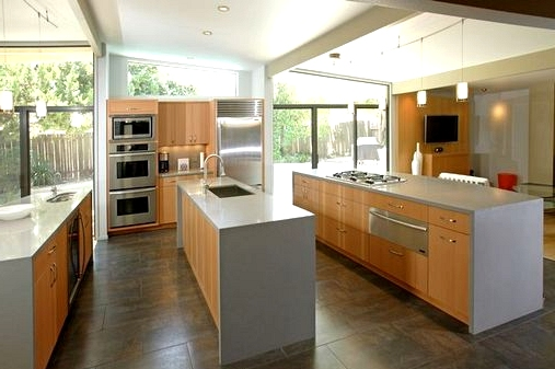 Two Kitchen Islands Instead of One