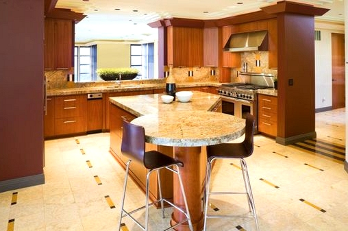 The Differently Shaped Barnwood Kitchen Island