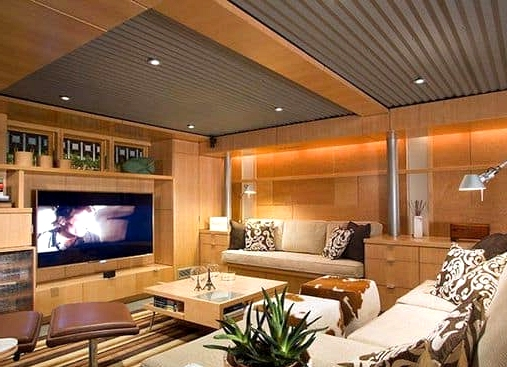 25 Distinctive and Astoundingly Stunning Basement Ceiling Concepts