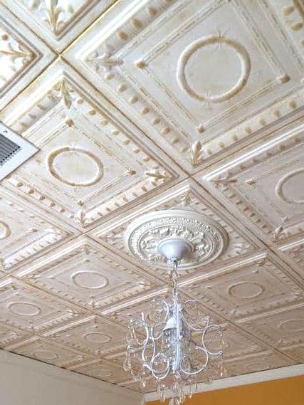 Install Styrofoam Ceiling Tiles on Your Own