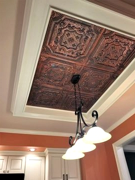 Try a Metal Accent Ceiling