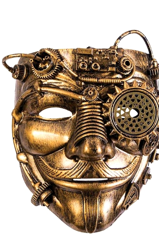 Steampunk Guy Fawkes Mask