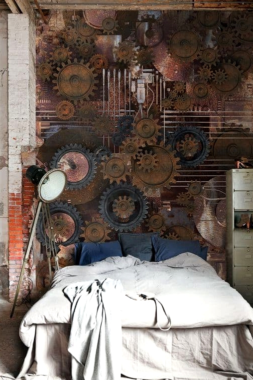 A Wall Full of Gears