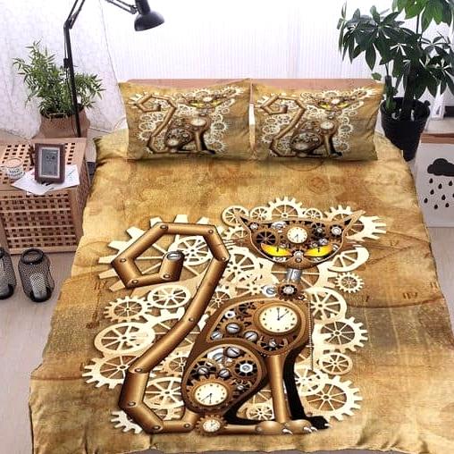Steampunk Bed Linen