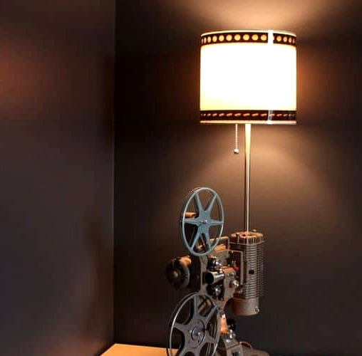 A Steampunk Table Lamp