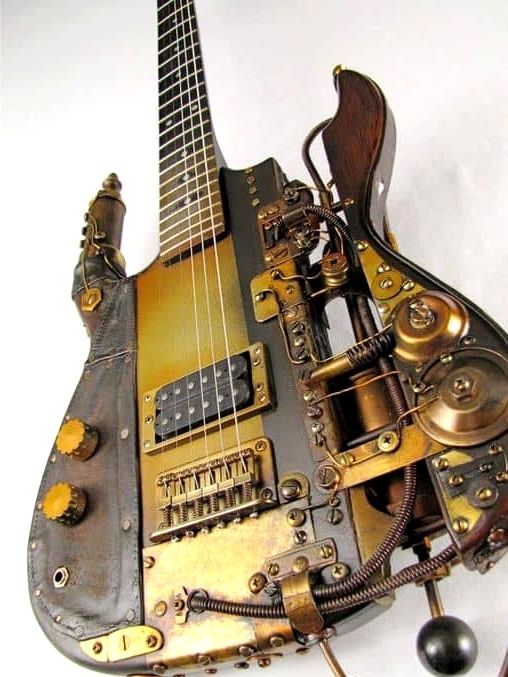 Steampunk Musical Instruments