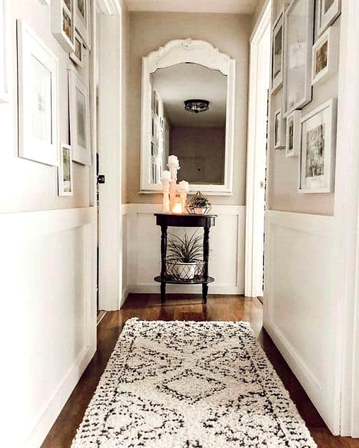 Place a Cozy Hallway Runner