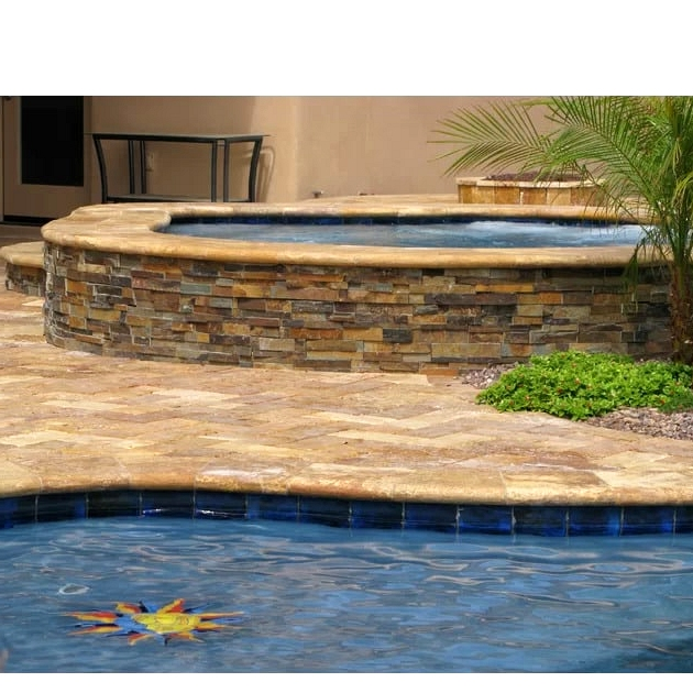 Make a Pool With Your Patio
