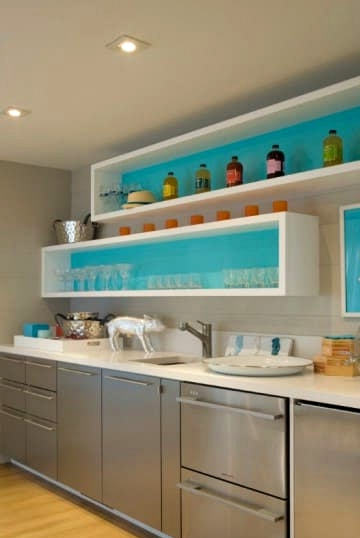 Add Some Color Pops for a Modern Touch