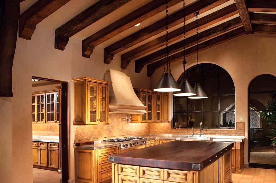 Keep Wooden Ceiling Beams Exposed