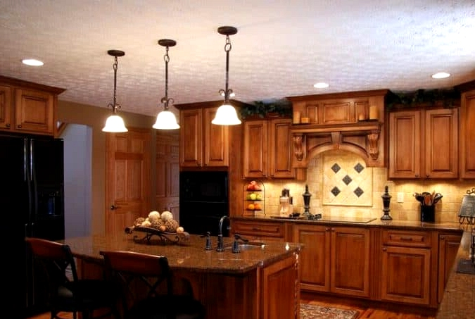Look for Heavy and Warm Wood Cabinets