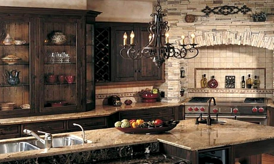 Get a Tuscan Rough-Hewn Stone Oven