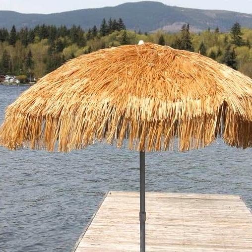 Get a Bamboo Palapa-Style Umbrella