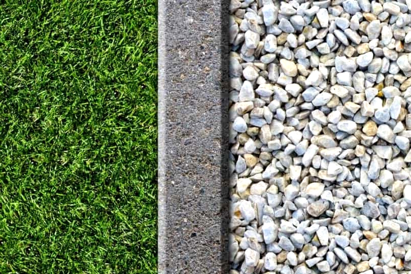 Use Crushed Rock for a Border Filling