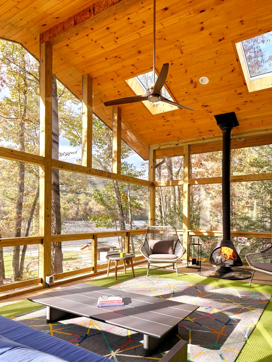 17 Stunning Mid Century Modern Porch Designs Perfect For The Summer