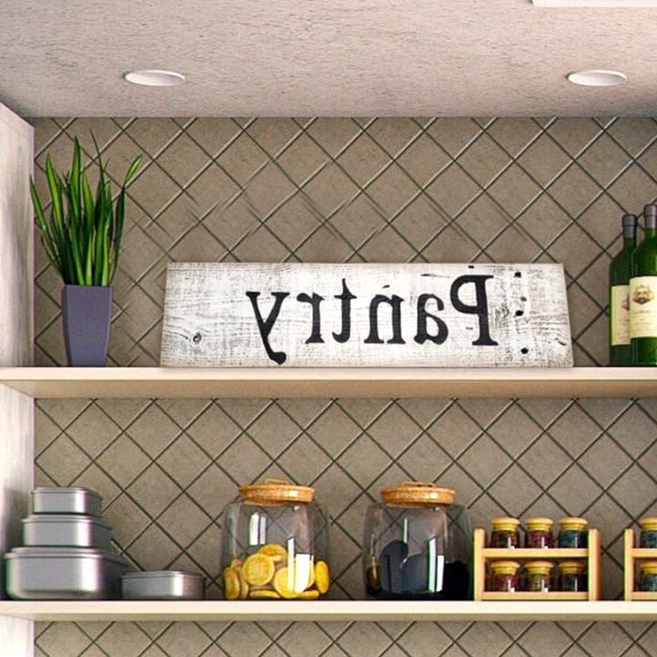 Include Cute Decor Touches to Your Pantry