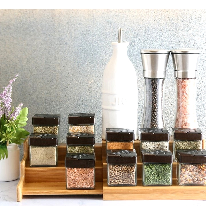 Buy a Spice Rack For Smaller Jars